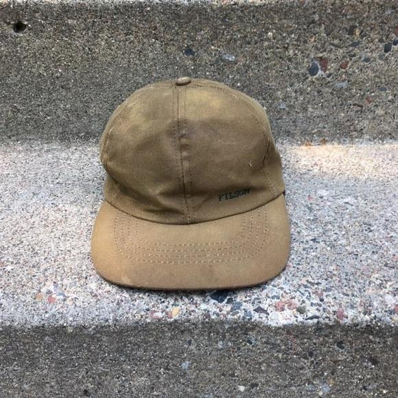 5be8a8b72b6c Filson Accessories   Tin Cloth Insulated Cap Hat Small   Poshmark